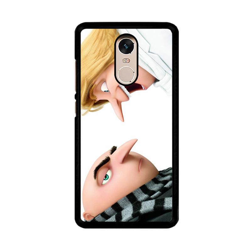 Flazzstore Despicable Me 3 O0699 Custom Casing for Xiaomi Redmi Note 4 or Note 4X Snapdragon Mediatek