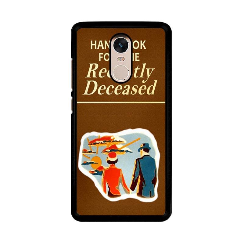 Flazzstore Beetlejuice Handbook For The Recently Deceased F0309 Custom Casing for Xiaomi Redmi Note 4 or Note 4X Snapdragon Mediatek