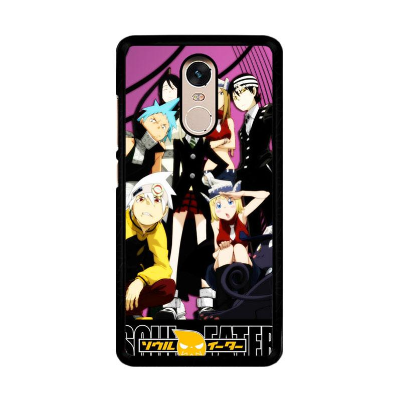 Flazzstore Soul Eater Cover Anime Z0330 Custom Casing for Xiaomi Redmi Note 4 Note 4X Snapdragon Mediatek