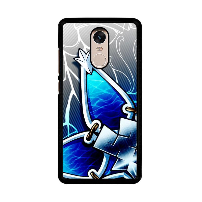 Flazzstore Kingdom Hearts Aqua Wayfinder Z0357 Custom Casing for Xiaomi Redmi Note 4 or Note 4X Snapdragon Mediatek