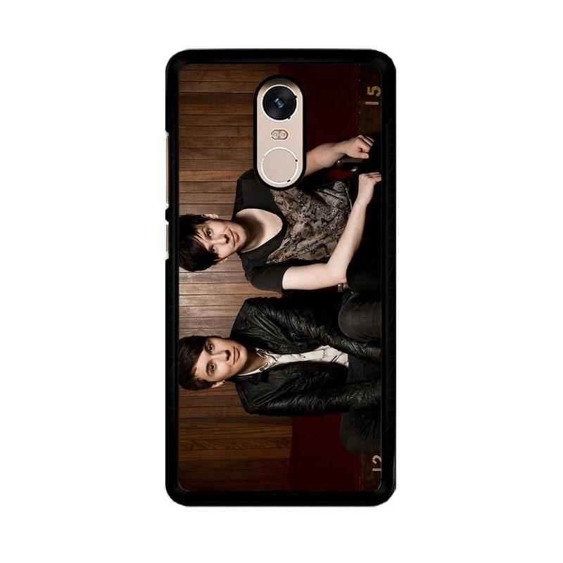 Flazzstore Dan And Phil Z1036 Custom Casing for Xiaomi Redmi Note 4 or Note 4X Snapdragon Mediatek