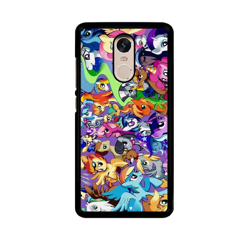 Flazzstore My Little Pony Collage Z1359 Custom Casing for Xiaomi Redmi Note 4 or Note 4X Snapdragon Mediatek