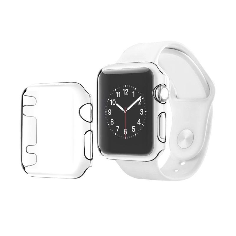OEM Hardcase Clear View TPU Casing for Apple Watch Series 2 - Transparant [Full Body]