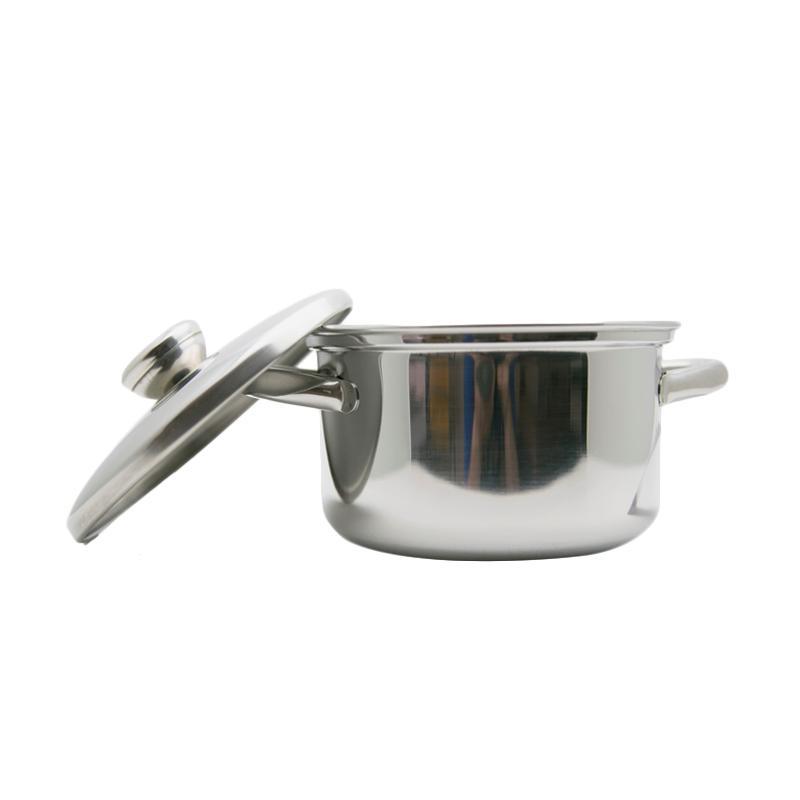 Bima Prima BP16G2-B2007016 Gagang 2 Stainless 304 Saucepot [16 cm]