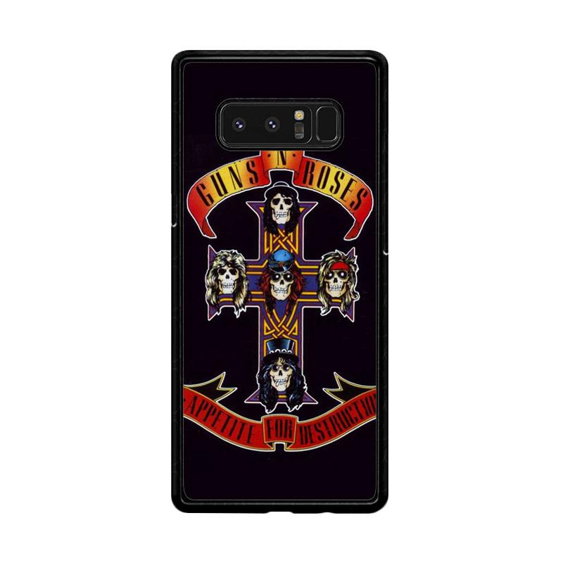 Flazzstore Rock Bands Guns N Roses F0216 Custom Casing for Samsung Galaxy Note8