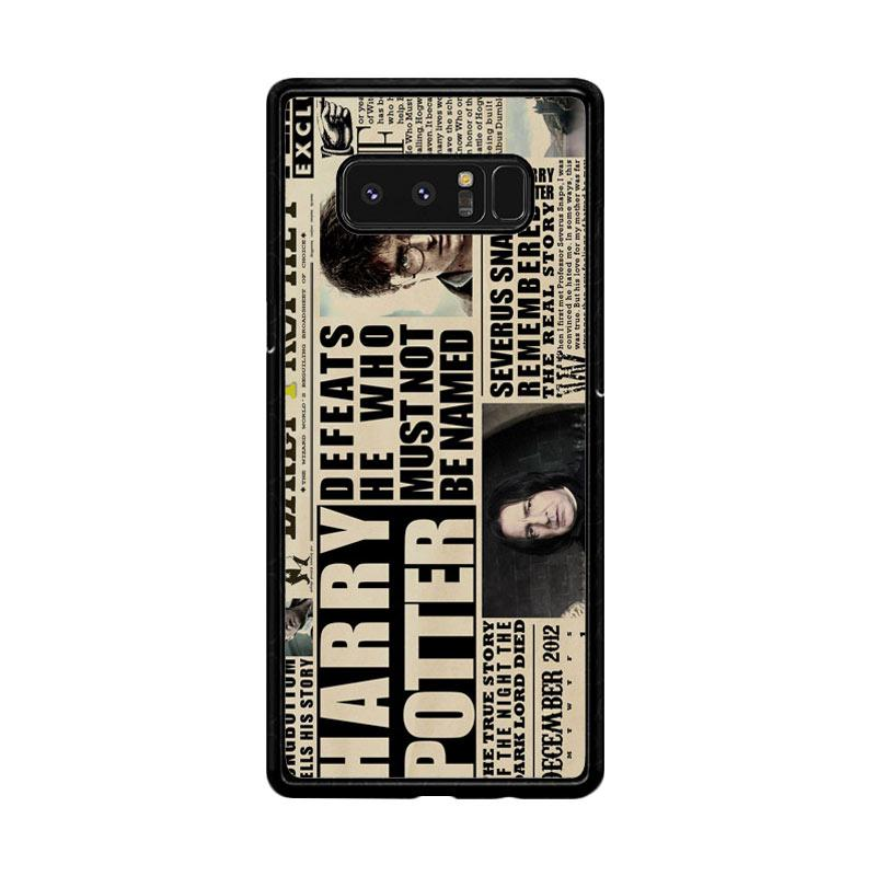 Flazzstore December2012 Harry Potter Daily Prophet F0163 Custom Casing for Samsung Galaxy Note8