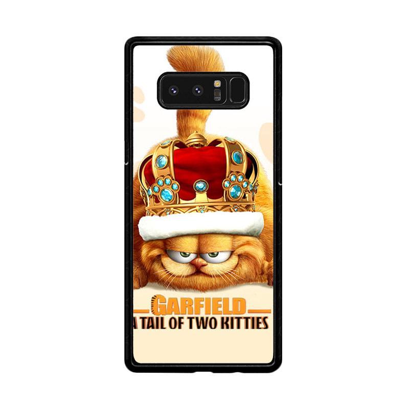 Flazzstore Garfield Tailof Twokitties Wall F0175 Custom Casing for Samsung Galaxy Note8
