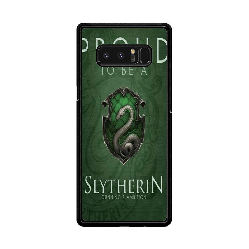 Flazzstore Proud To Be Slytherin F0574 Custom Casing for Samsung Galaxy Note8
