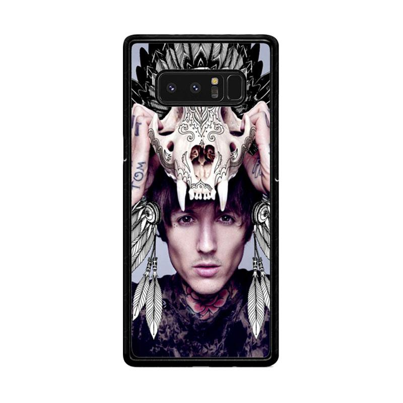 Flazzstore Oliver Sykes Skull Head Z0275 Custom Casing for Samsung Galaxy Note8