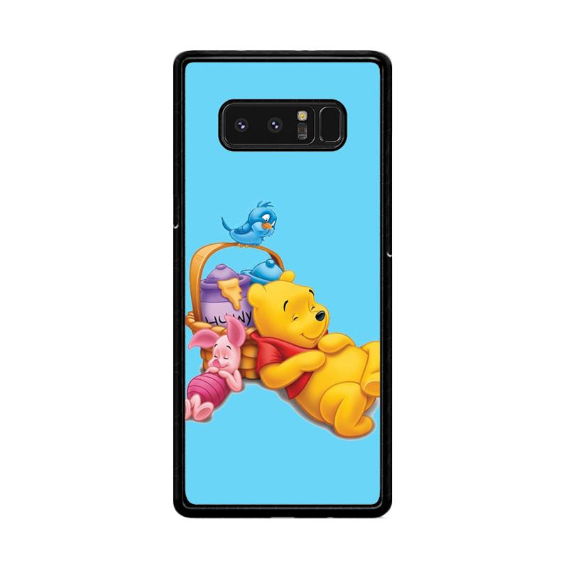 Flazzstore Funny Winnie The Pooh And Piglet Z1060 Custom Casing for Samsung Galaxy Note 8