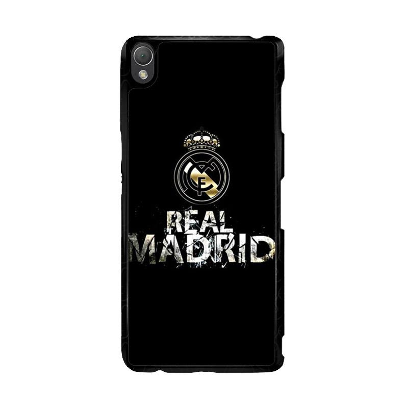 Flazzstore Real Madrid Logo O1047 Custom Casing for Sony Xperia Z3