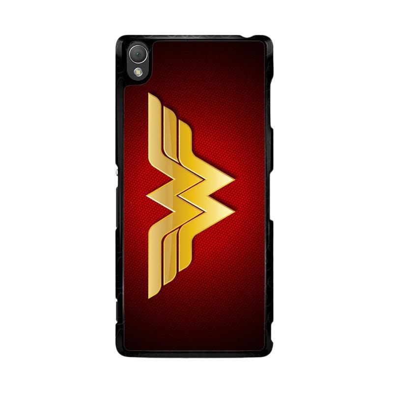 Flazzstore Wonder Woman Logo F0248 Custom Casing for Sony Xperia Z3