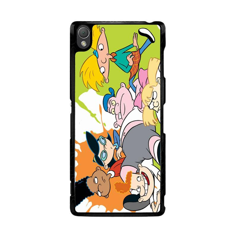 Flazzstore Hey Arnold Z0626 Custom Casing for Sony Xperia Z3