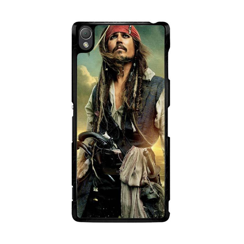 Flazzstore Captain Jack Sparrow F0344 Custom Casing for Sony Xperia Z3