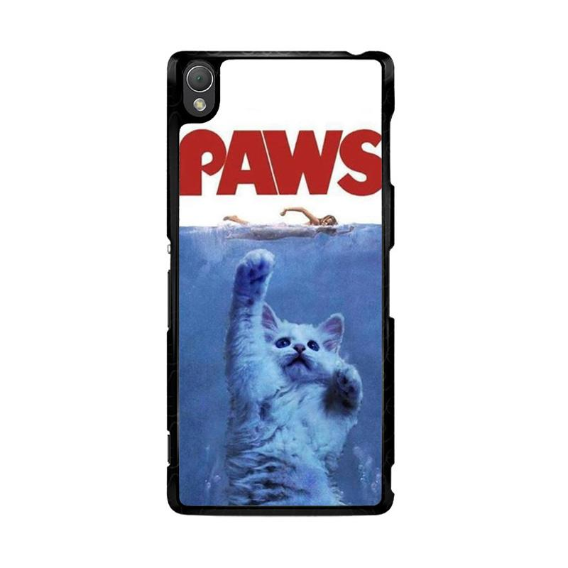 Flazzstore Paws Ovie Parody Funny Cat Attack F0586 Custom Casing for Sony Xperia Z3