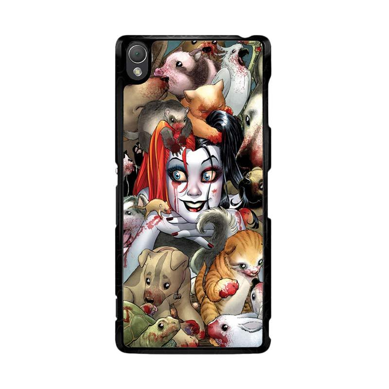 Flazzstore Harley Quinn Textless Z0242 Custom Casing for Sony Xperia Z3