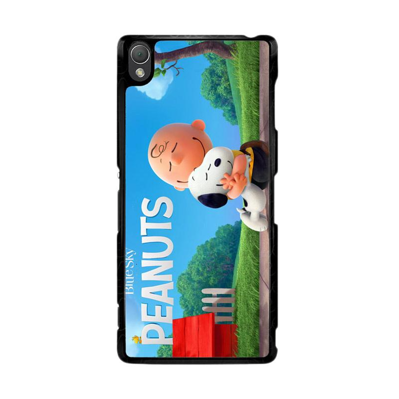 Flazzstore Peanuts Movie Animation Z0283 Custom Casing for Sony Xperia Z3