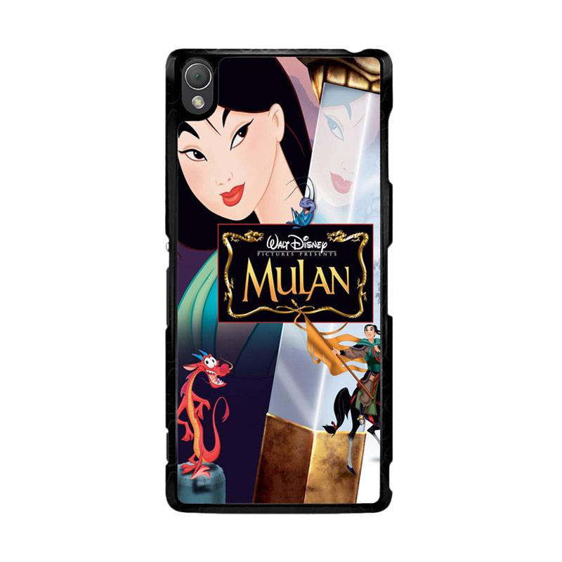 Flazzstore Mulan Disney Z0511 Custom Casing for SONY Xperia Z3