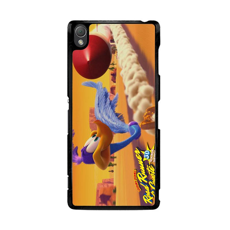 Flazzstore Road Runner 3D Looney Tunes Z0892 Custom Casing for Sony Xperia Z3