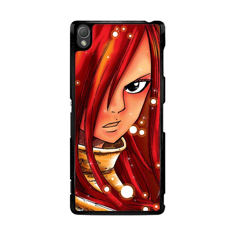 Flazzstore Erza Fairy Tail Z1046 Custom Casing for Sony Xperia Z3