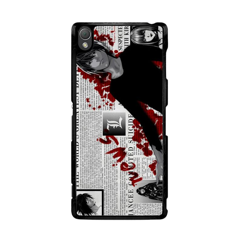 Flazzstore Death Note Z1215 Custom Casing for Sony Xperia Z3