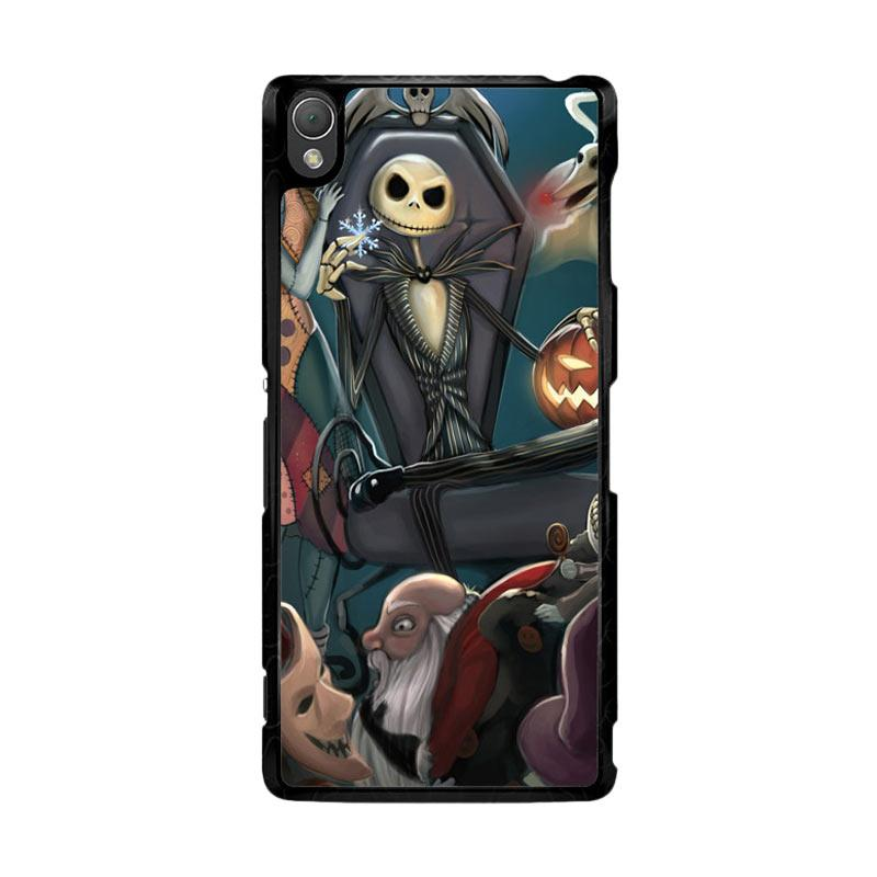 Flazzstore Nightmare Before Christmas Z1482 Custom Casing for Sony Xperia Z3