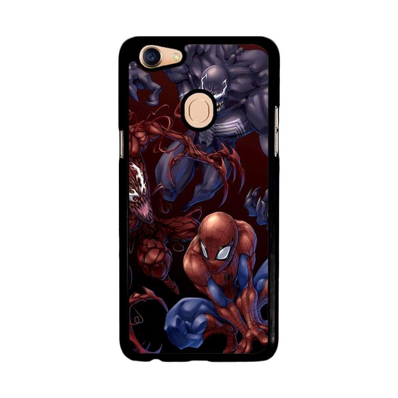 Flazzstore Spiderman Venom Carnage Back Z1619 Custom Casing for Oppo F5