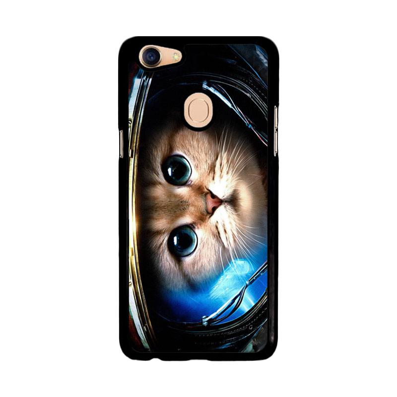 Flazzstore Space Cat Z1621 Custom Casing for Oppo F5