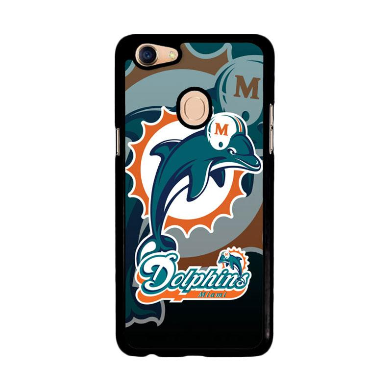 Flazzstore Miami Dolphins Nfl Z3270 Custom Casing for Oppo F5