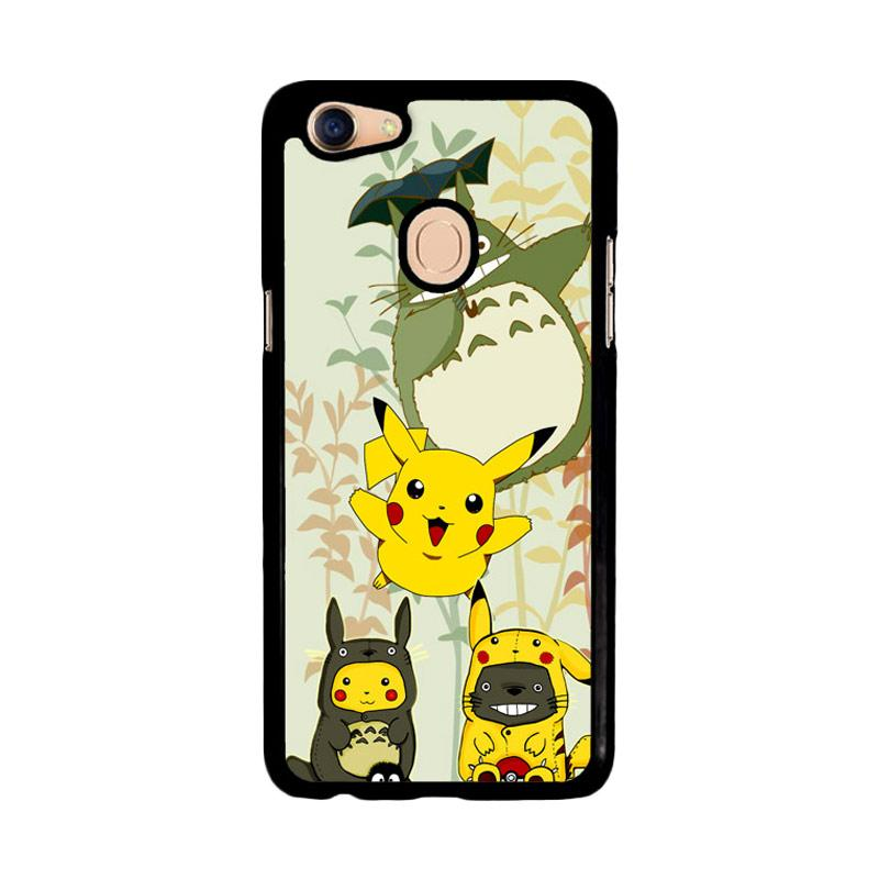 Flazzstore Totoro Love Pikachu Pokemon Z3271 Custom Casing for Oppo F5