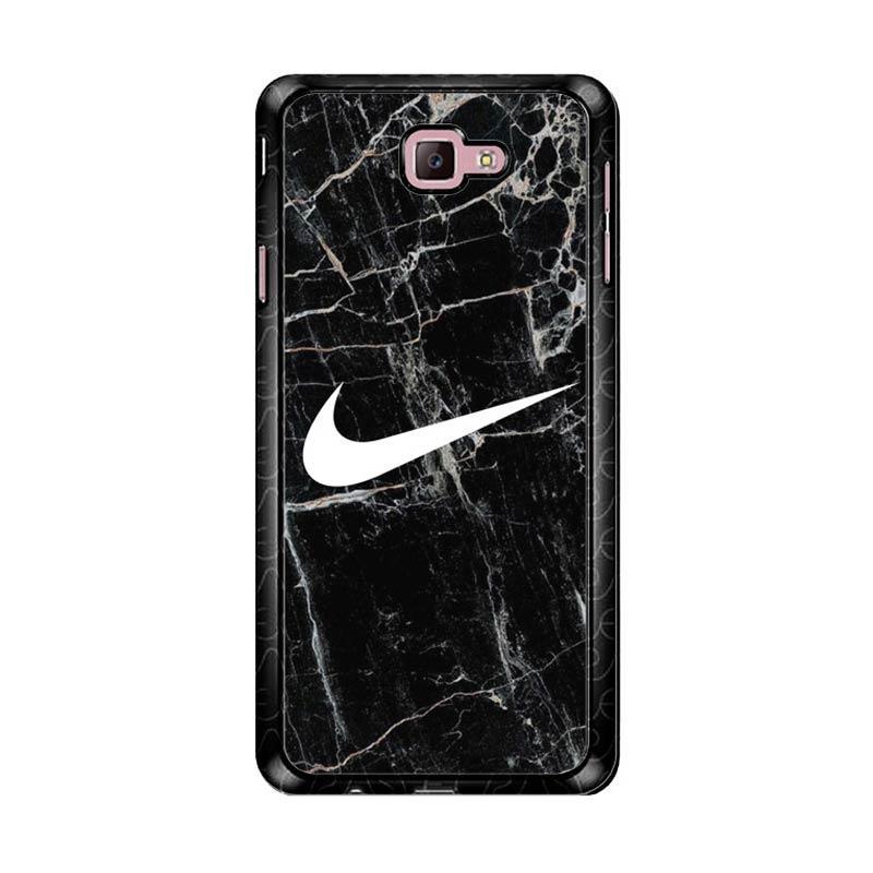 Flazzstore Nike Black Marble Z5384 Custom Casing for Samsung Galaxy J7 Prime