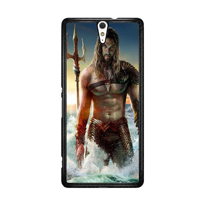 Flazzstore Jason Momoa As Aquaman Z0582 Custom Casing for Sony Xperia C5 Ultra