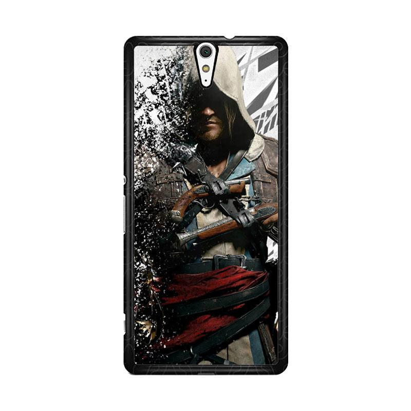Flazzstore Assassin'S Creed Edward Kenway Z1416 Custom Casing for Sony Xperia C5 Ultra