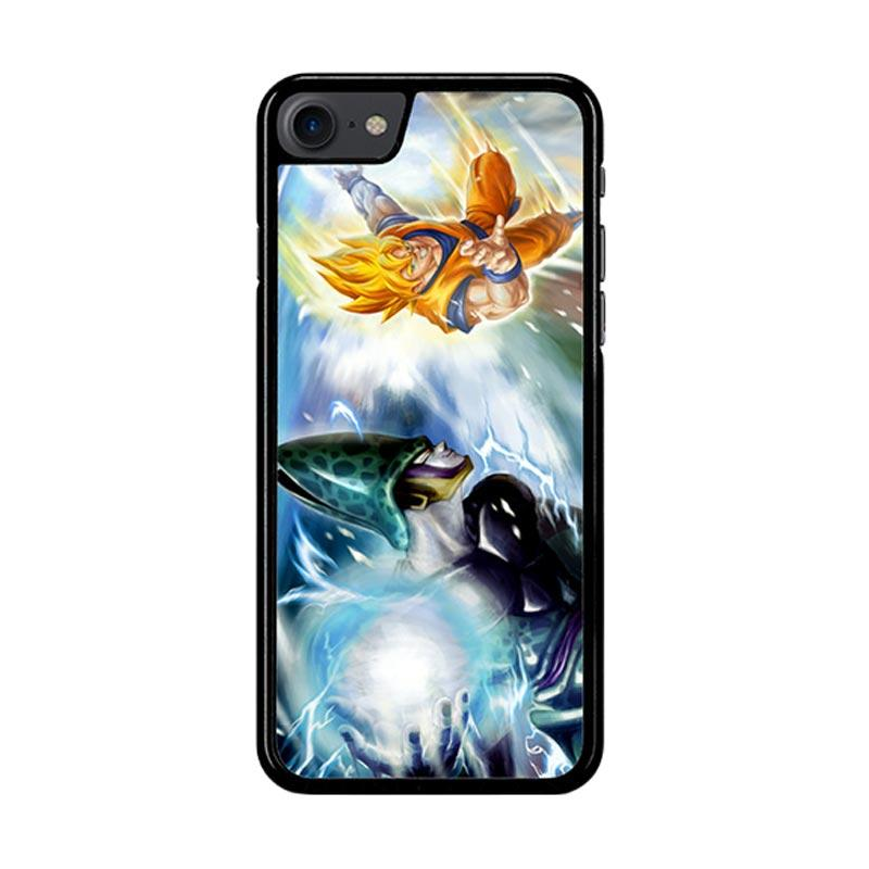 Flazzstore Dragonball Z Cell Vs Goku Z1600 Custom Casing for iPhone 7 or 8