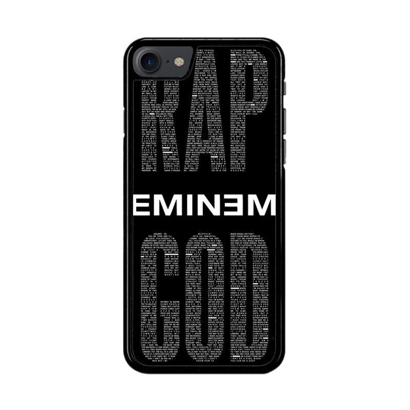 Flazzstore Rap God Eminem Z2835 Custom Casing for iPhone 7 or 8
