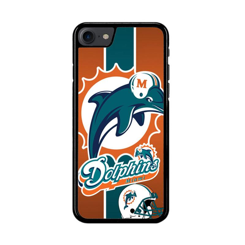 Flazzstore Miami Dolphins Z2995 Custom Casing for iPhone 7 or 8