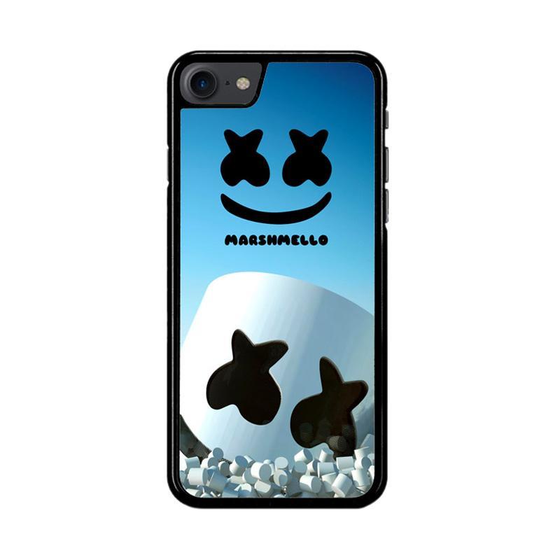 Flazzstore Marshmello Logo Z3865 Custom Casing for iPhone 7 or 8