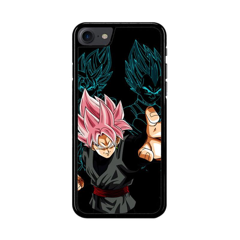 Flazzstore Dragon Ball Super Black Goku Z3887 Custom Casing for iPhone 7 or 8