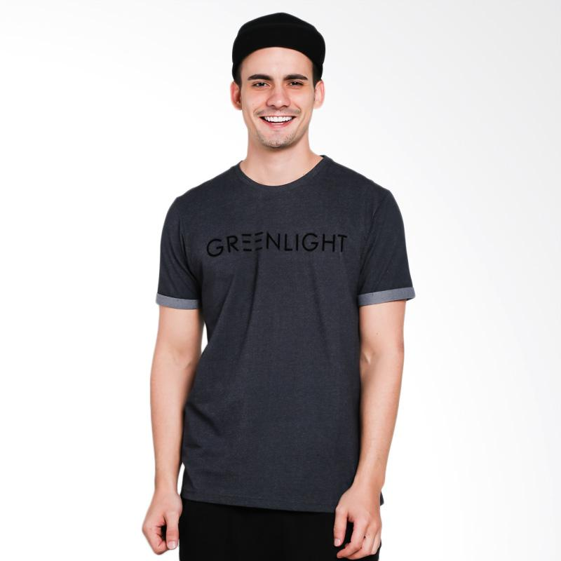 Greenlight Men 5401 T-Shirt Pria - Grey