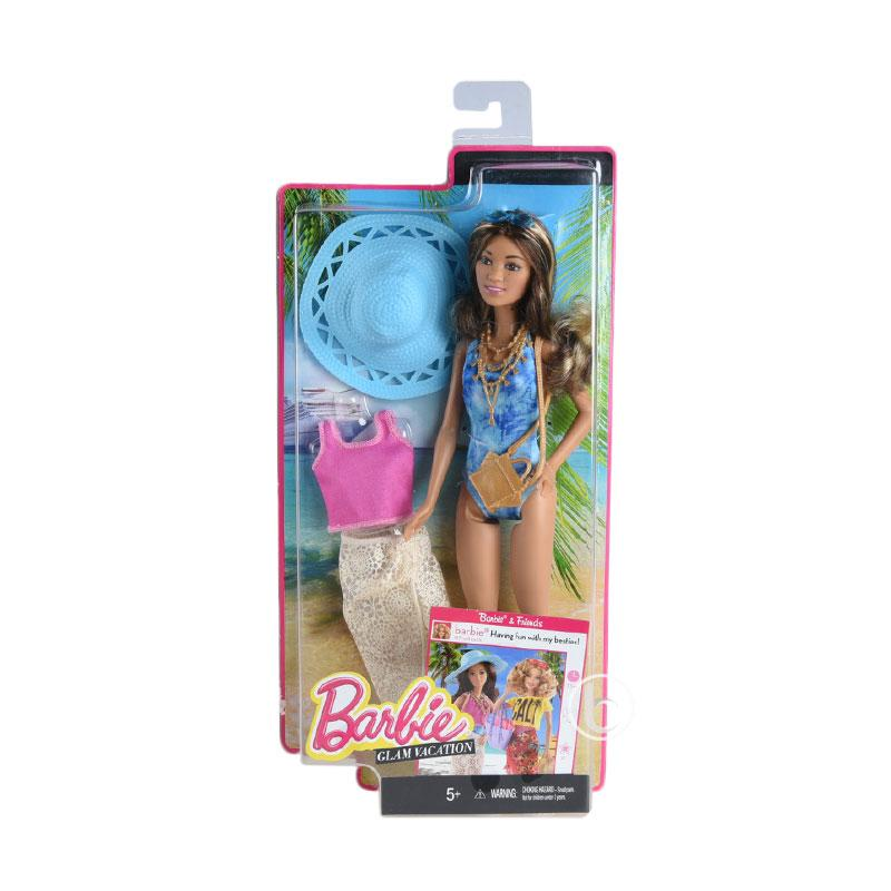Barbie Glam Vacation Mainan Anak
