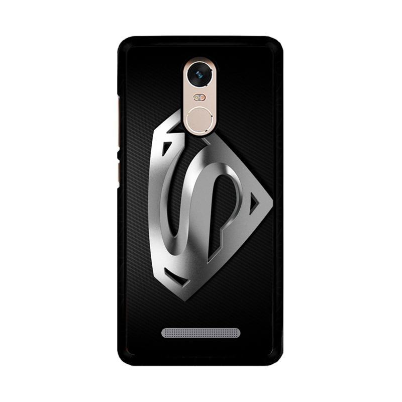 Flazzstore Superman Silver Logo Z1291 Custom Casing for Xiaomi Redmi Note 3 or Note 3 Pro