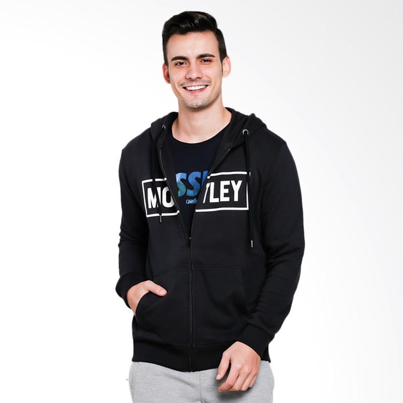 Moutley 0101 Jacket Pria - Black