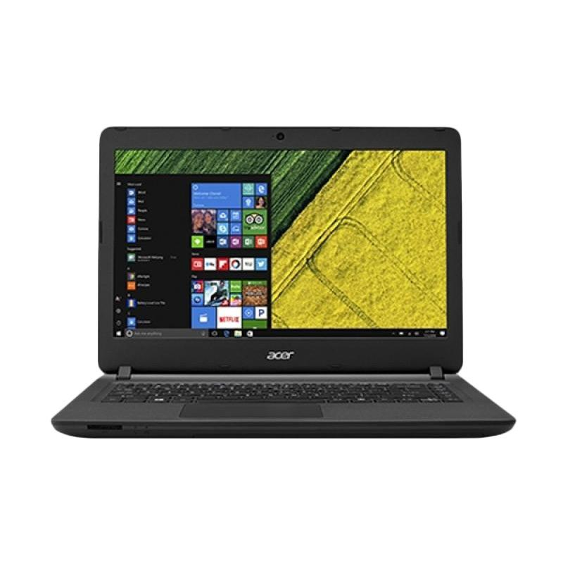 harga Kamis Ganteng - Acer Aspire ES1-432-C8ZP Notebook - Black [14 Inch/ Celeron N3350/ 2GB/ 500GB/Win 10] Blibli.com
