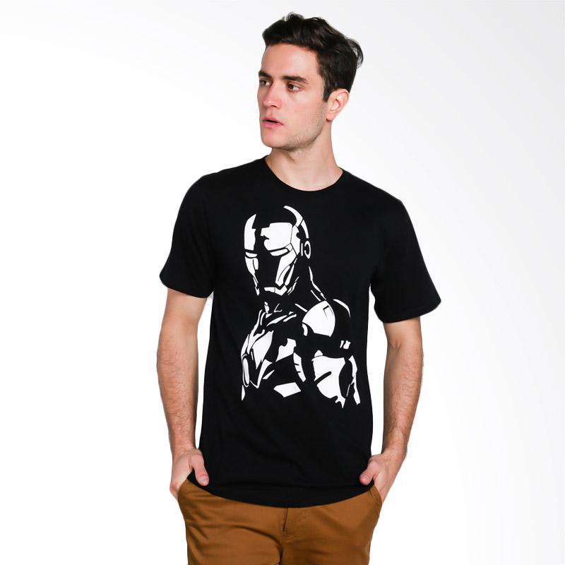 Hypestore Iron Man T-Shirt Pria [3051-6561]