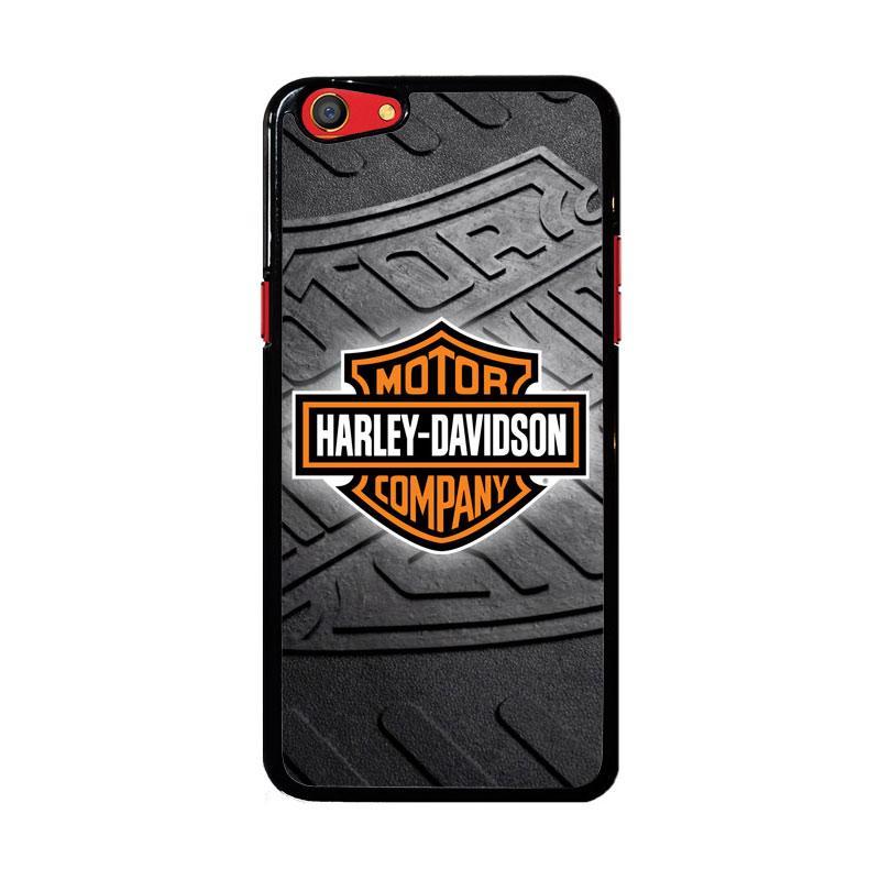 Flazzstore Harley Davidson Logo Z3250 Custom Casing for Oppo F3