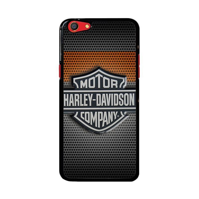 Flazzstore Motor Harley Davidson Logo Z4053 Custom Casing for Oppo F3