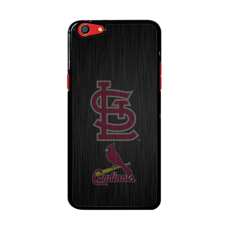Flazzstore St. Louis Cardinals Logo Wood Z4064 Custom Casing for Oppo F3