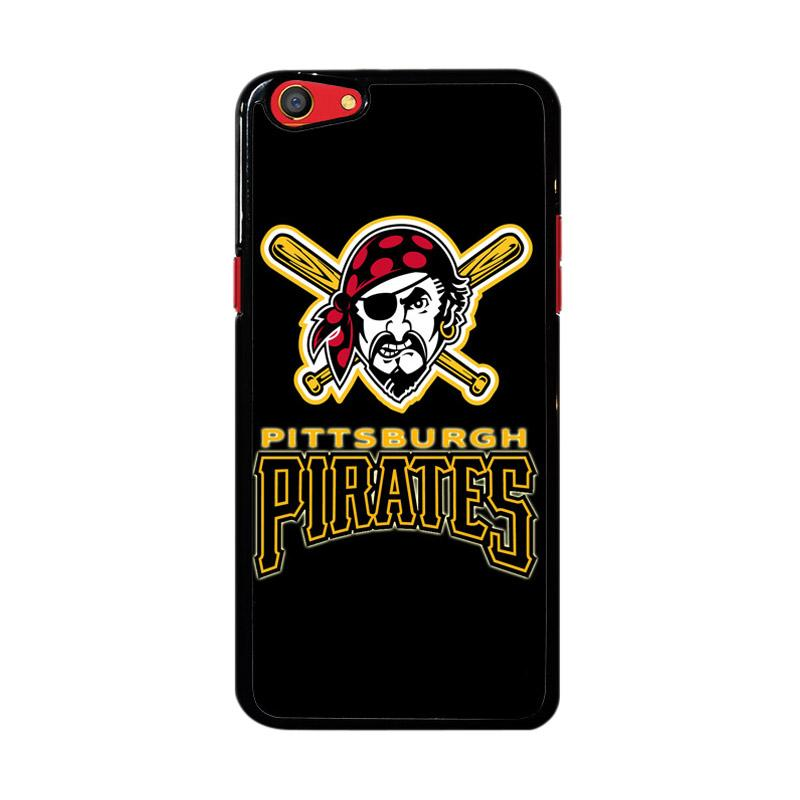 Flazzstore Pittsburgh Pirates Logo Z4122 Custom Casing for Oppo F3