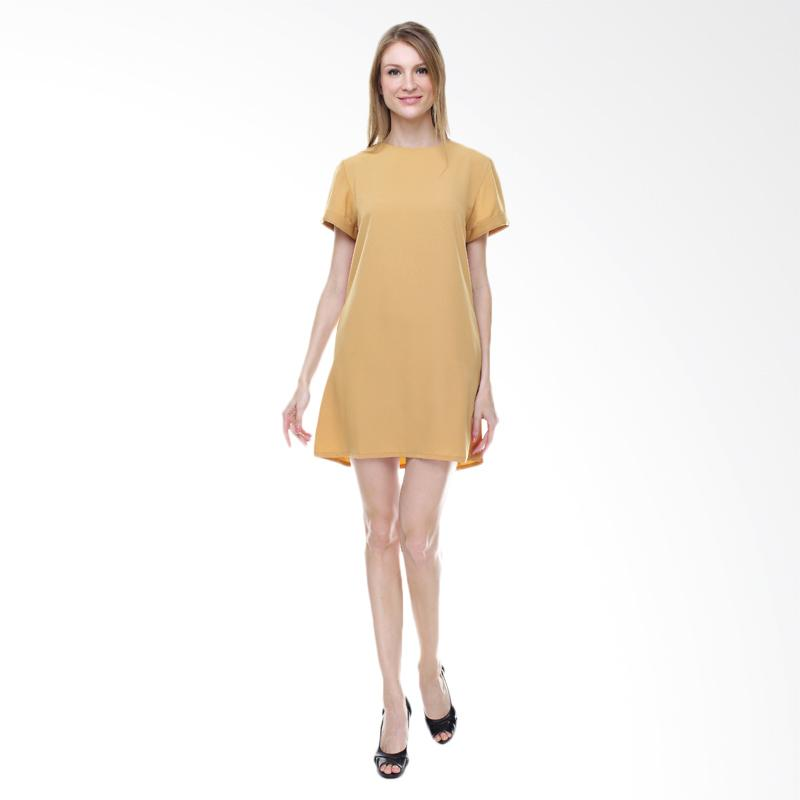 Halcyon Basic Dress - Nude