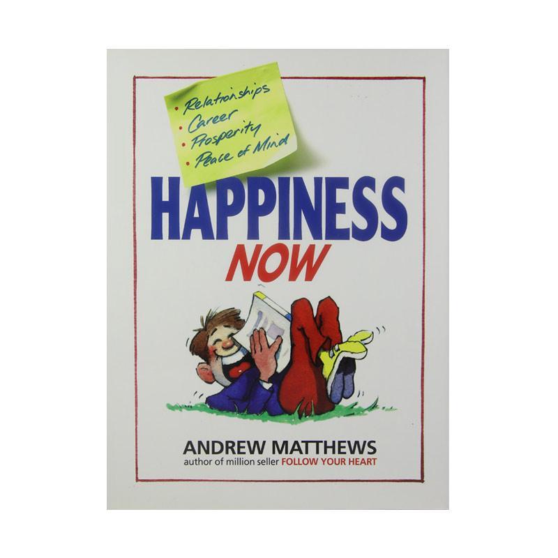 Seashell Publishers Happiness Now Buku Pengembangan Diri